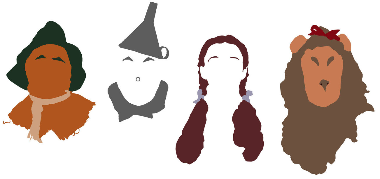 Wizard of oz silhouette clipart picture transparent stock Wizard Of Oz Character Images | Free download best Wizard Of ... picture transparent stock