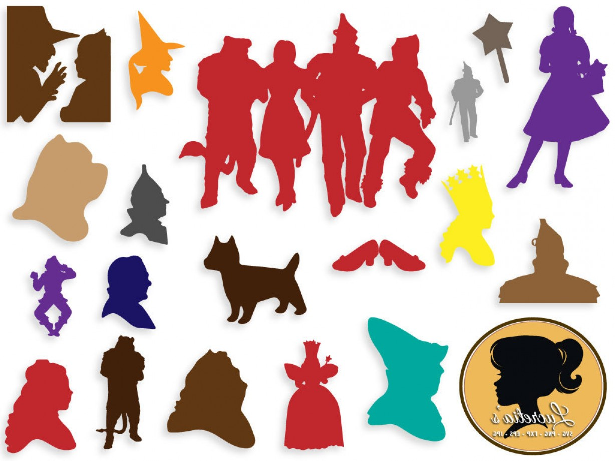 Wizard of oz silhouette clipart vector royalty free Wizard Of Oz Wizard Of Oz Svg Files | SOIDERGI vector royalty free