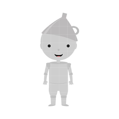Wizard of oz tinman clipart free library Tin Man Clip Art - Quarter Clipart   Alayna\'s 3 birthday ... free library