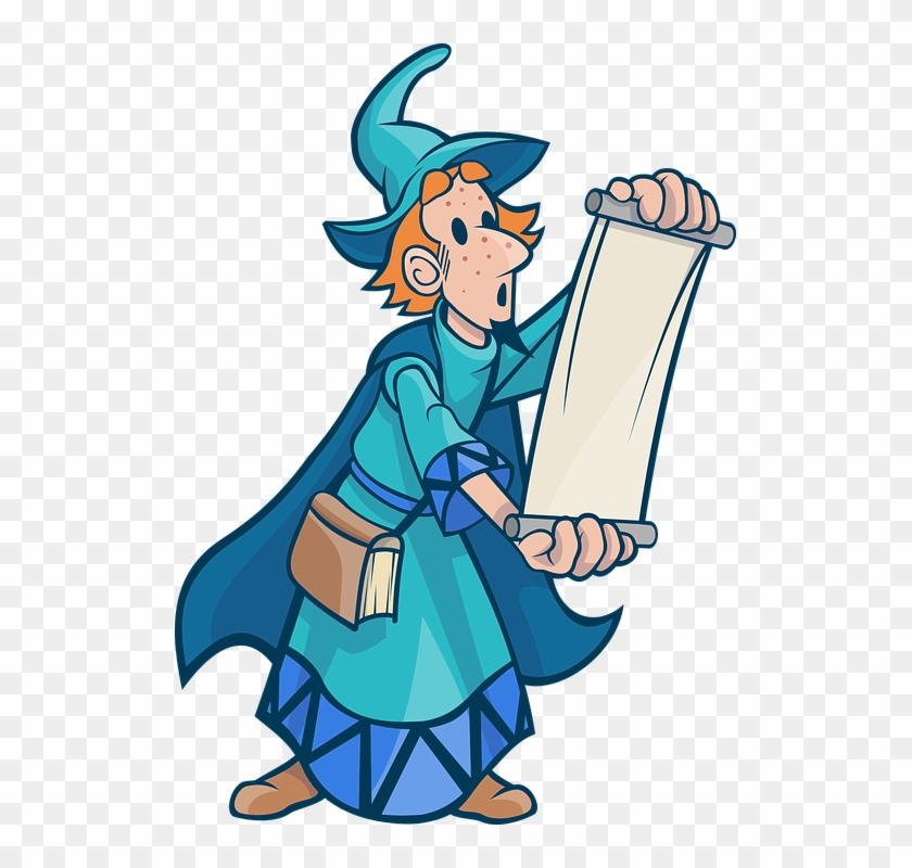 Wize wizard clipart svg download Wizard Clipart Evil Sorcerer - Wizard Scroll, HD Png ... svg download