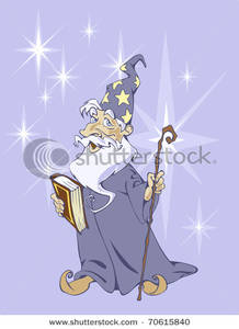 Wize wizard clipart picture royalty free library Royalty Free Clipart Image: A Wize Wizard Holding a Book of ... picture royalty free library