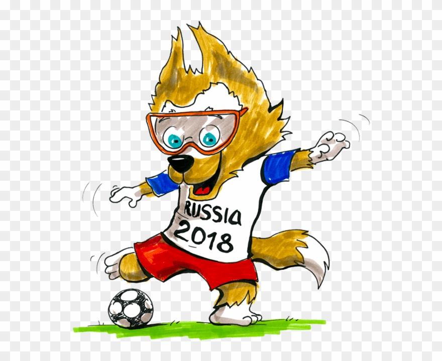Wo clipart freeuse Fussball Russland Wo - Fußball Wm Maskottchen 2018 Clipart ... freeuse