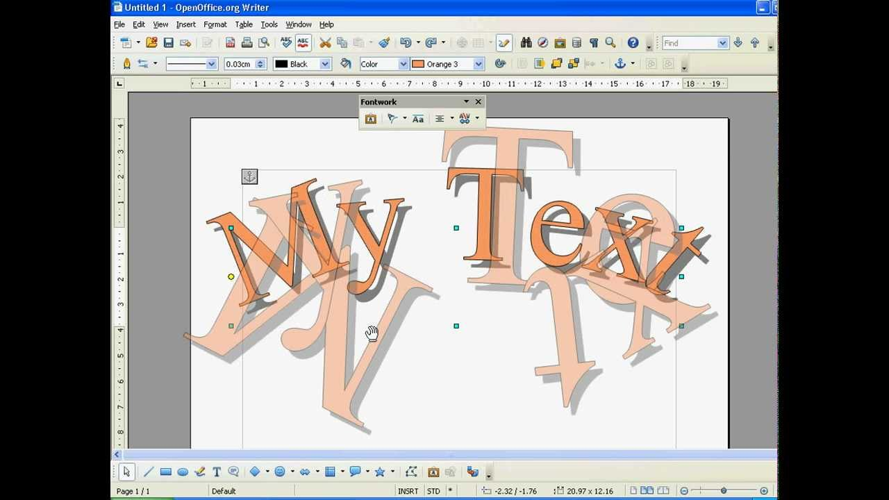 Wo finde ich clipart bei word svg free Open Office How to Use WordArt (Fontwork) - YouTube svg free