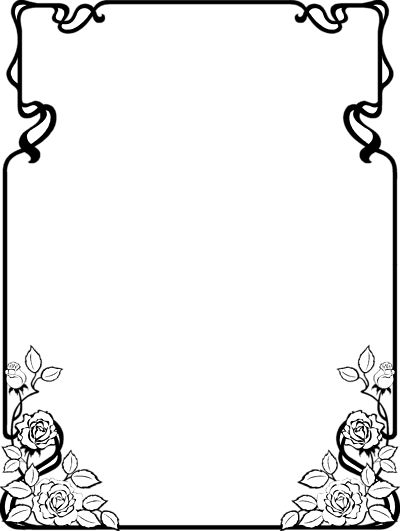 Wo finde ich cliparts fur word jpg royalty free library Clip Art Page Borders   Free Black and White Clip Art Borders ... jpg royalty free library