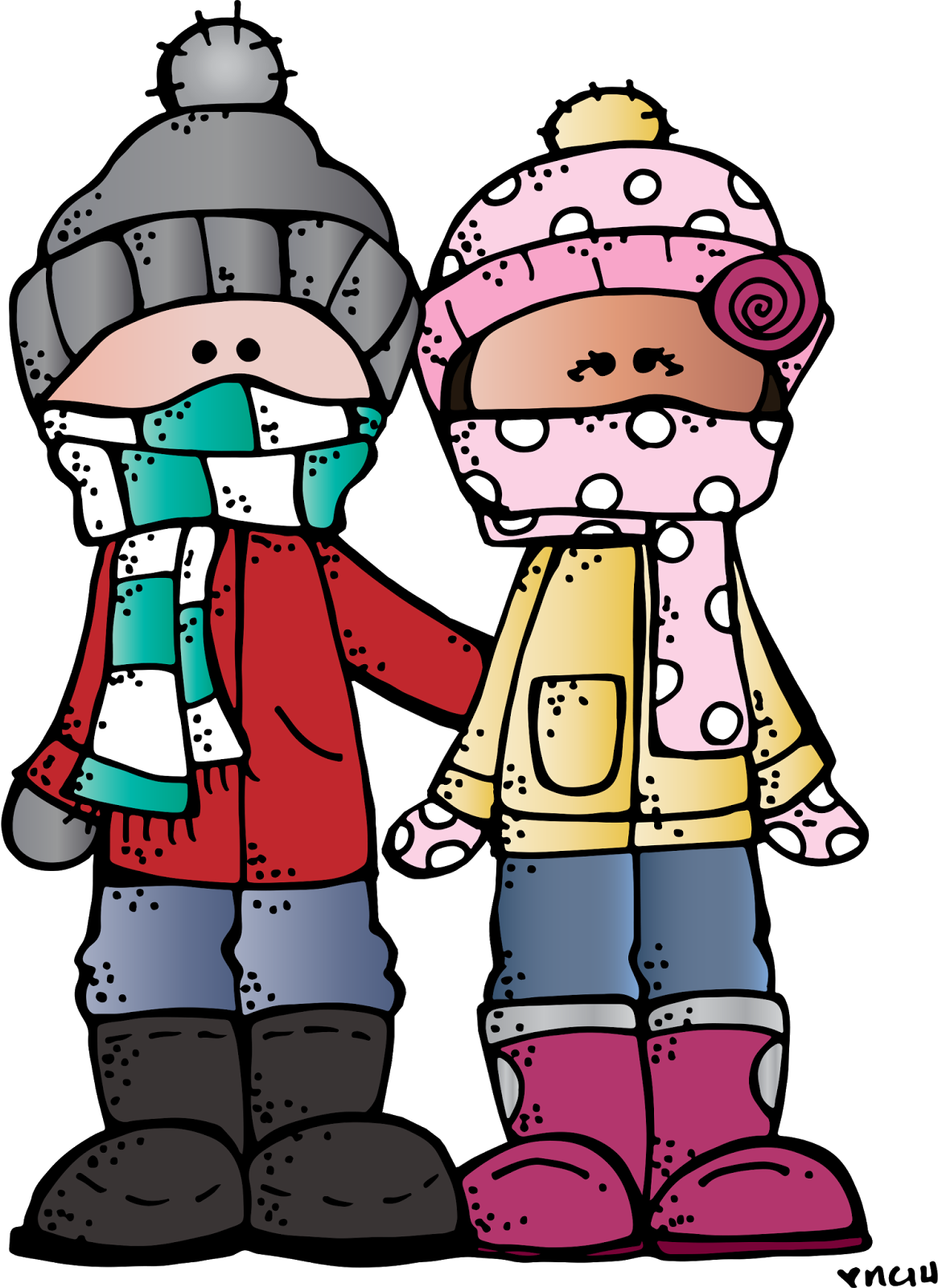 Clipart of kids peeking over a book clip freeuse Melonheadz LDS illustrating: Winter Freebie :) | Printables ... clip freeuse