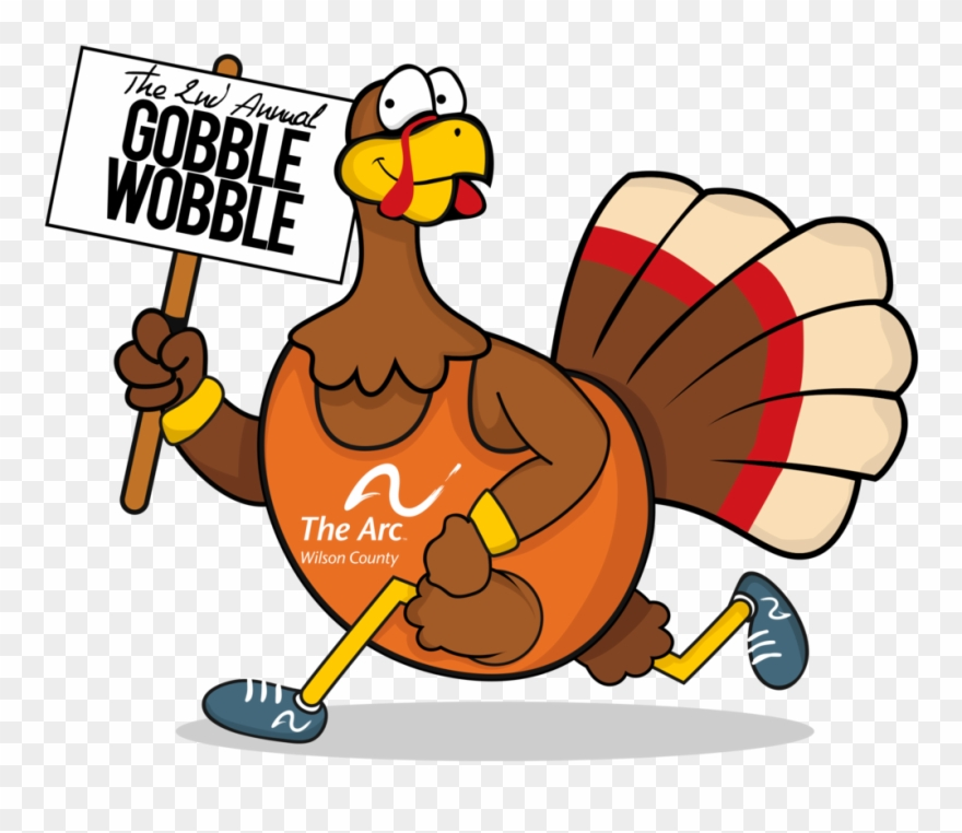 Wobble clipart clip art royalty free download 2nd Annual Gobblewobble Shaded Transparent - Gobble Before ... clip art royalty free download