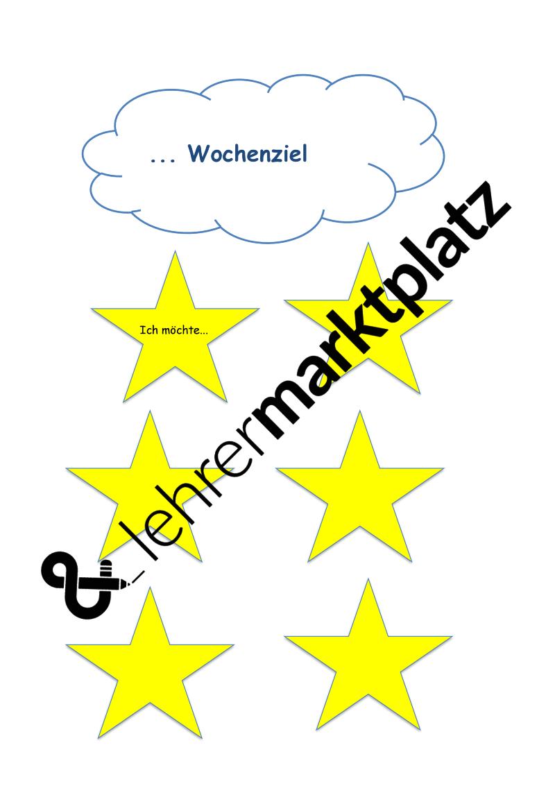 Wochenziel clipart picture freeuse library Wochenziel – Fachübergreifendes | Lehreralltag picture freeuse library