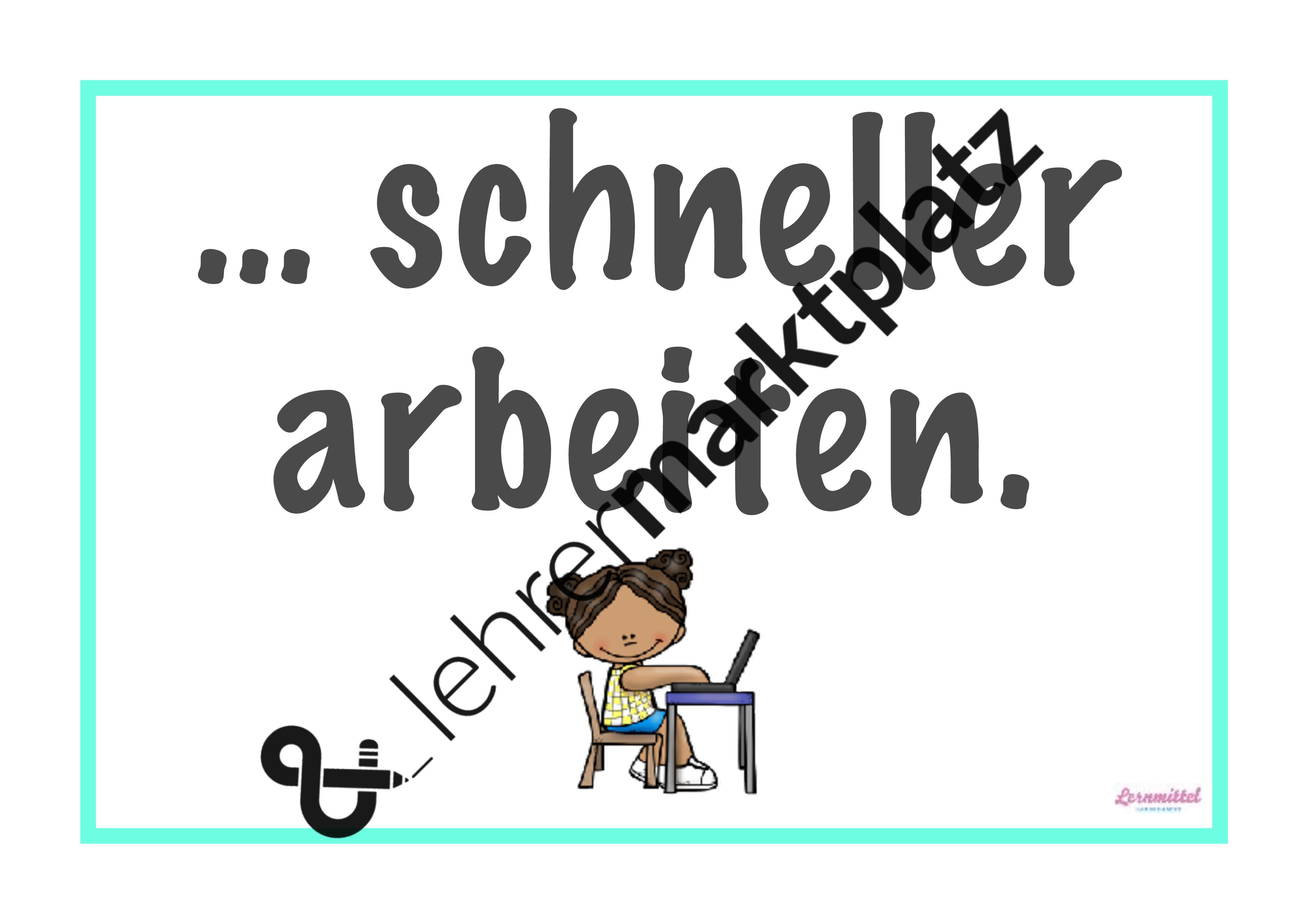 Wochenziel clipart banner library Mein Wochenziel - Tafelkarten – Unterrichtsmaterial in den ... banner library