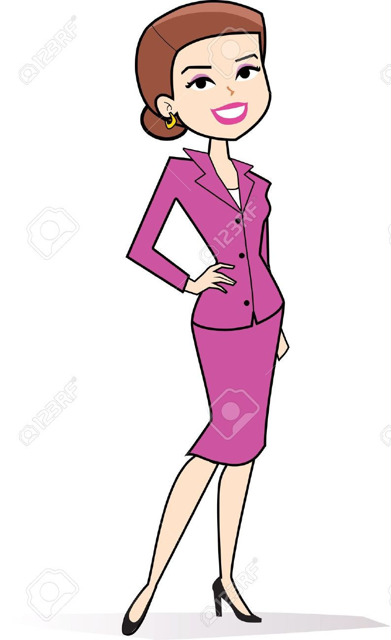 Woman clipart vector royalty free Cartoon woman clipart in retro | Clipart Panda - Free ... vector royalty free