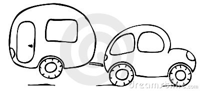 Wohnwagen clipart kostenlos svg transparent Caravaning Lizenzfreie Stockfotos - Bild: 12023778 svg transparent