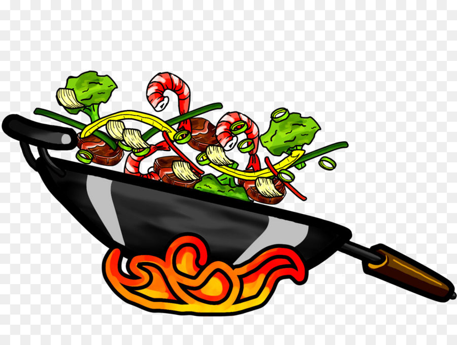 Wok cooking clipart clipart freeuse stock Chinese Food clipart freeuse stock