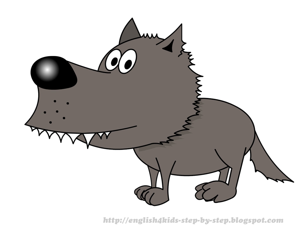 Pictures images transparent png. Free cartoon wolf clipart