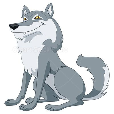 Wolf cartoon image clipart clip art library download Gray Wolf Clip Art, Royalty Free Cartoon Wolf Stock Image ... clip art library download