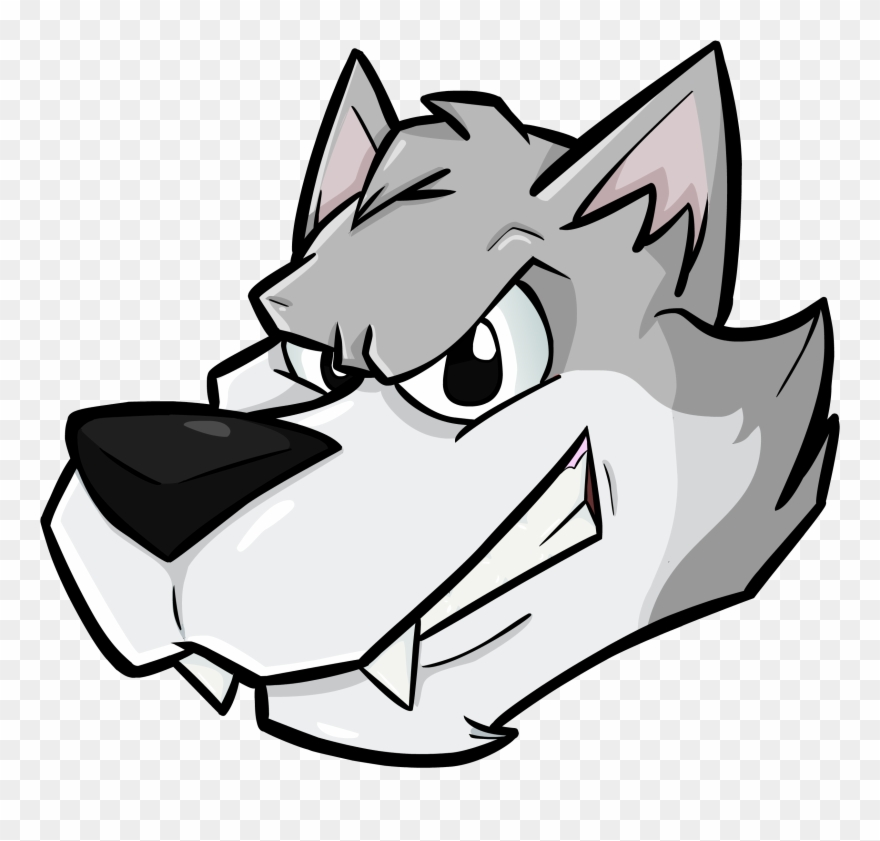Wolf cartoon image clipart graphic black and white library A Wolf Head - Cartoon Transparent Wolf Head Clipart ... graphic black and white library