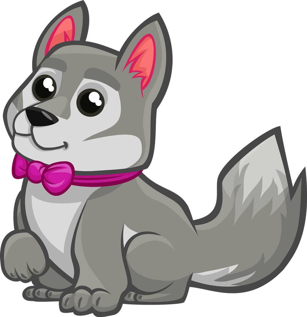 Wolf child clipart picture transparent stock Cartoon Wolf Clipart | Free download best Cartoon Wolf ... picture transparent stock