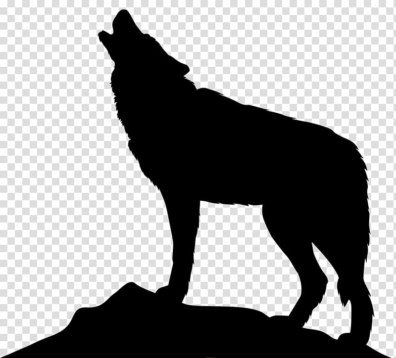 Wolf dog clipart transparent png royalty free download Dog Arctic wolf Icon , Howling Wolf Silhouette transparent ... png royalty free download