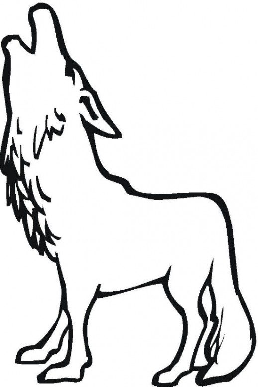 Wolf clipart easy picture freeuse download Free Simple Wolf Drawings, Download Free Clip Art, Free Clip ... picture freeuse download