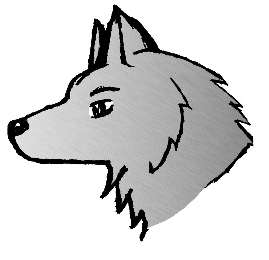 Wolf clipart easy black and white Free Easy Wolf Drawings, Download Free Clip Art, Free Clip ... black and white