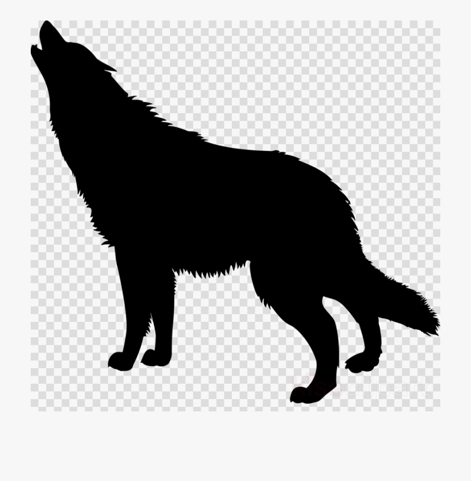 Wolf dog clipart transparent png black and white stock Wolf Dog Silhouette Clipart German Shepherd Clip Art ... png black and white stock