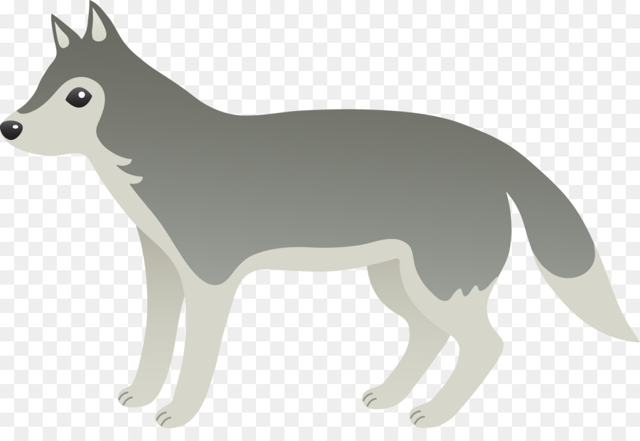 Wolf dog clipart transparent clipart black and white download Wolf Drawing png download - 9217*6166 - Free Transparent Dog ... clipart black and white download