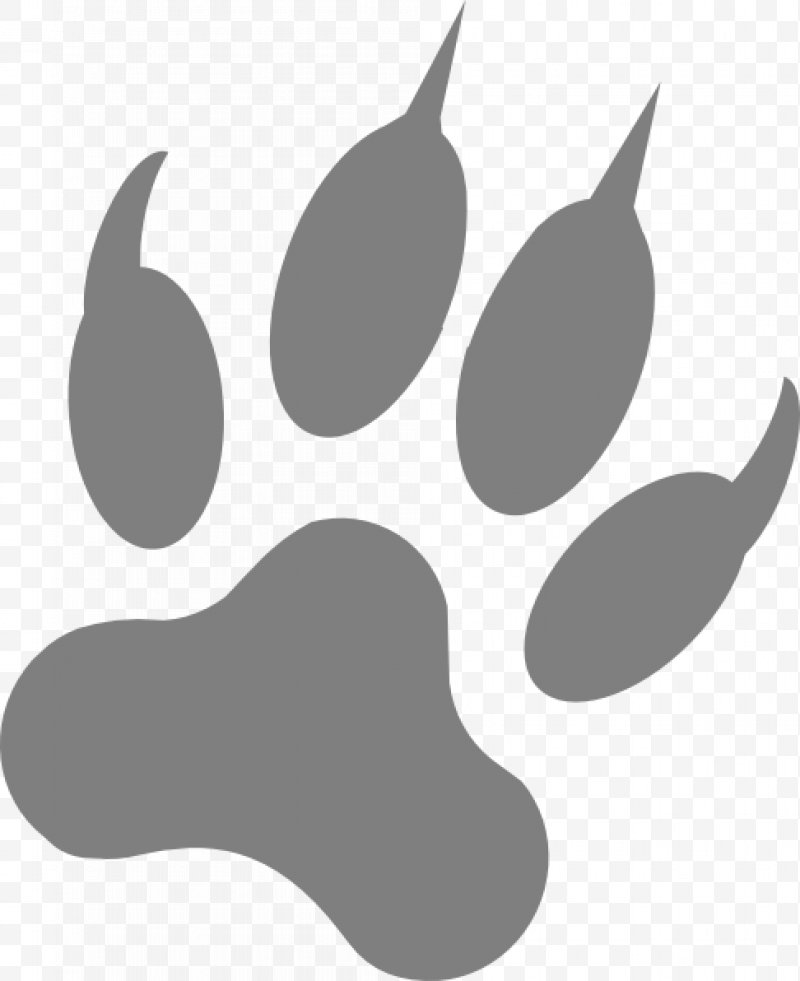 Wolf footprints clipart png library library Dog Paw Footprint Claw Clip Art, PNG, 486x596px, Dog, Animal ... png library library
