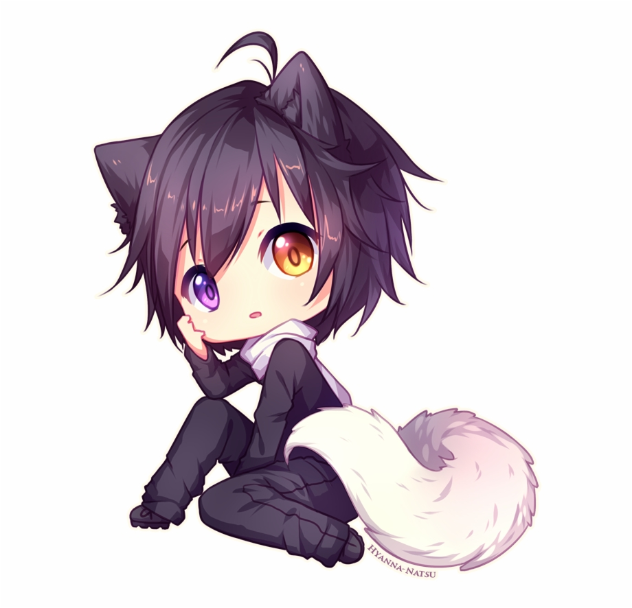 Wolf girl clipart clip royalty free download Commission Kuraimas By - Cute Anime Wolf Girl Free PNG ... clip royalty free download