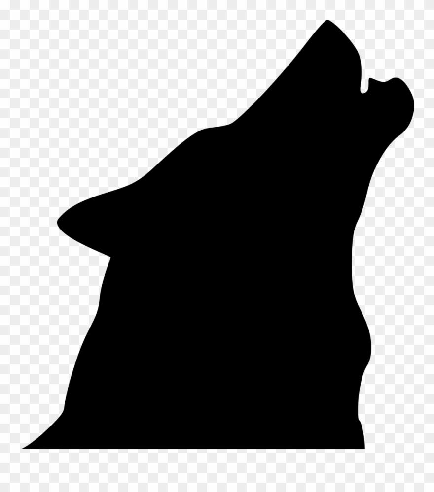 Wolf head silhouette clipart clip art library library Info - Howling Wolf Head Silhouette Clipart (#3340062 ... clip art library library