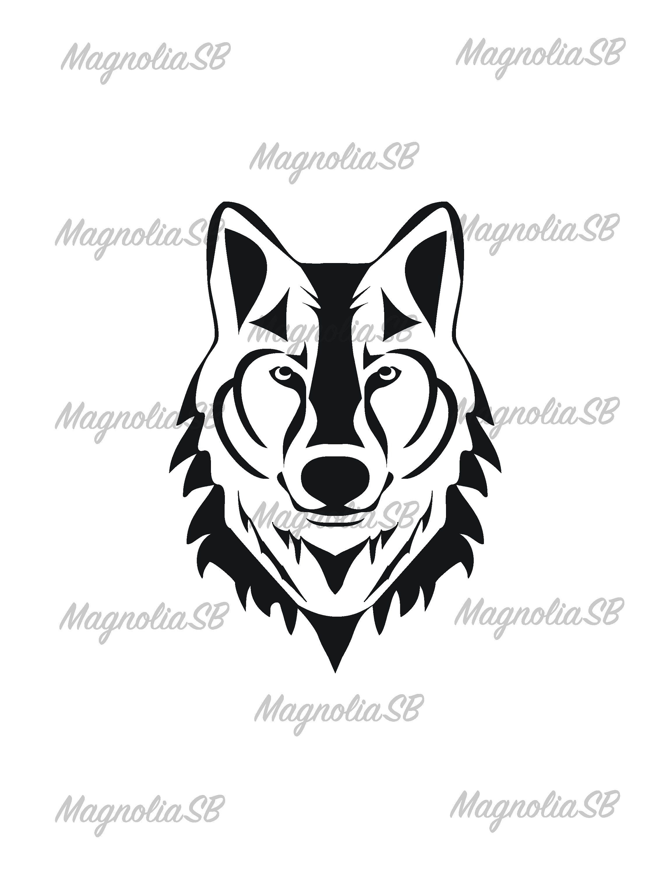 Wolf head silhouette clipart png transparent stock Wolf SVG / Wolf DXF / Wolf Clipart / Wolf File, cutting, DXF ... png transparent stock