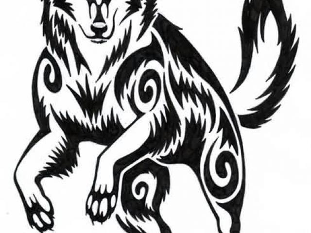 Wolf native american clipart clip art transparent download Native American Wolf Drawing   Free download best Native ... clip art transparent download
