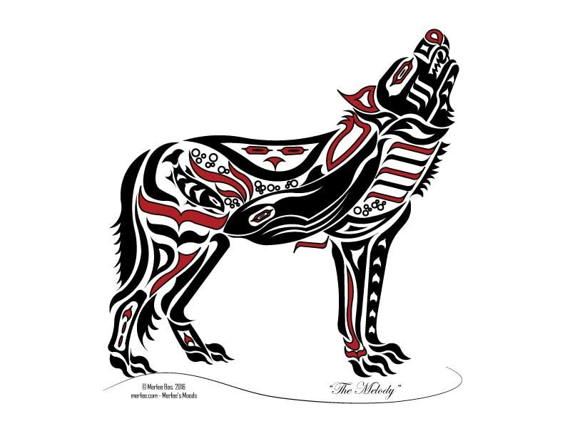 Wolf native american clipart clip art royalty free New Haida / Tlingit Wolf - Native American Art   art   Haida ... clip art royalty free