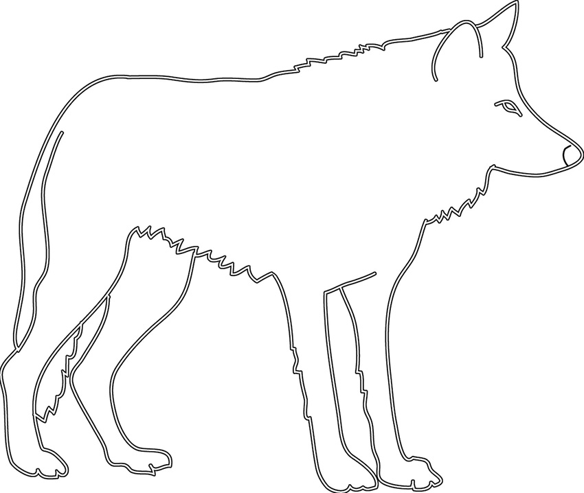 Wolf sideways clipart banner royalty free download Animal Silhouette, Silhouette Clip Art banner royalty free download