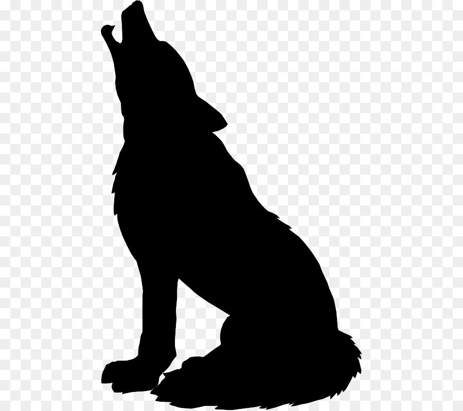 Wolf silhouette clipart graphic download Gray wolf Silhouette Drawing Clip art - Wolf Head Silhouette ... graphic download