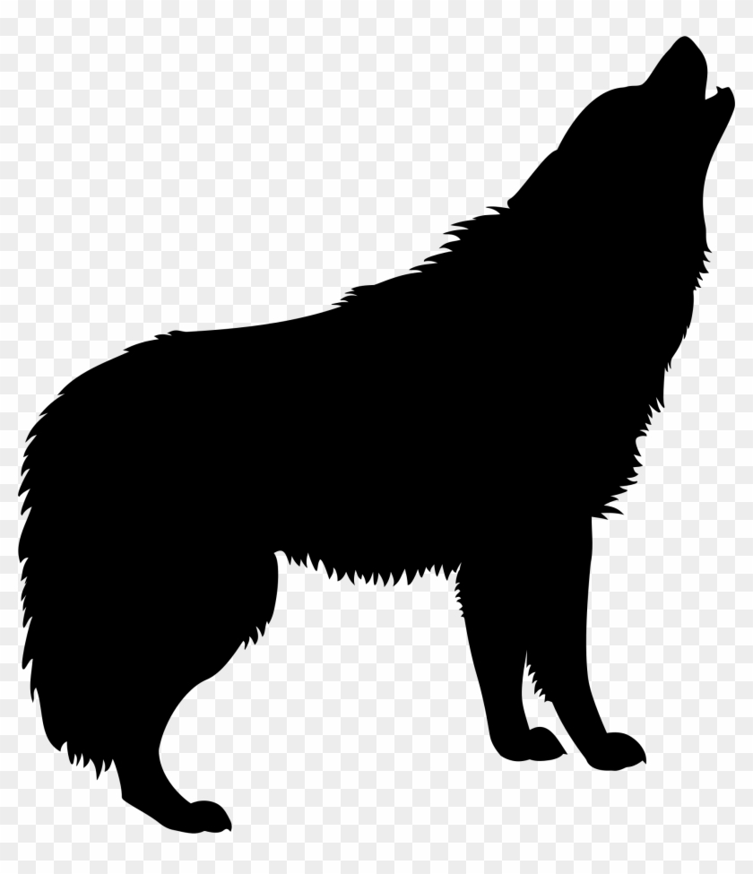 Wolf howling clipart clip royalty free library Coyote Clipart Small Wolf - Howling Wolf Silhouette Png ... clip royalty free library