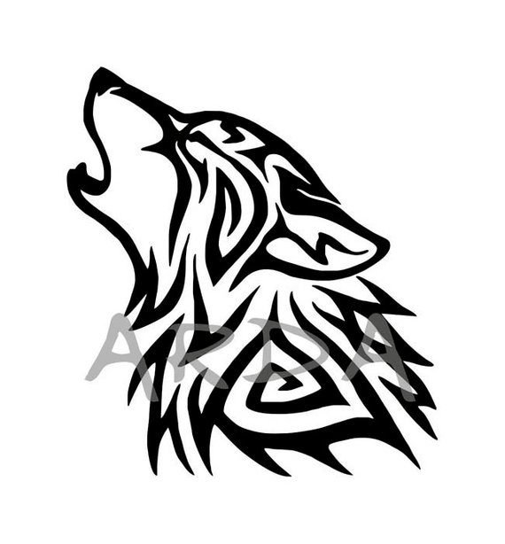 Wolfhead clipart graphic freeuse library Wolf SVG File / Wolf Head SVG / Wolf Clipart / Wolf Head ... graphic freeuse library