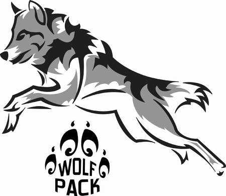 Wolfpack clipart graphic freeuse stock Wolfpack clipart 3 » Clipart Station graphic freeuse stock