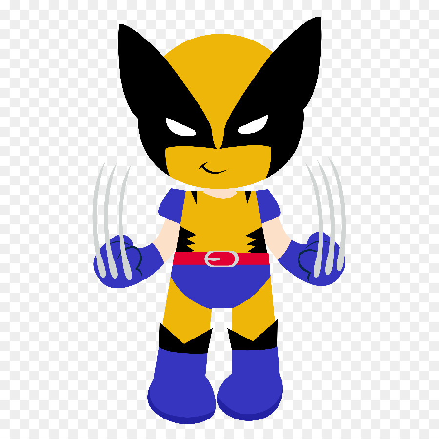 Wolverine clipart free png library library Captain America Cartoon png download - 598*900 - Free ... png library library