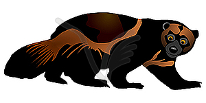 Wolverine clipart free black and white stock Free Wolverine Cliparts, Download Free Clip Art, Free Clip ... black and white stock
