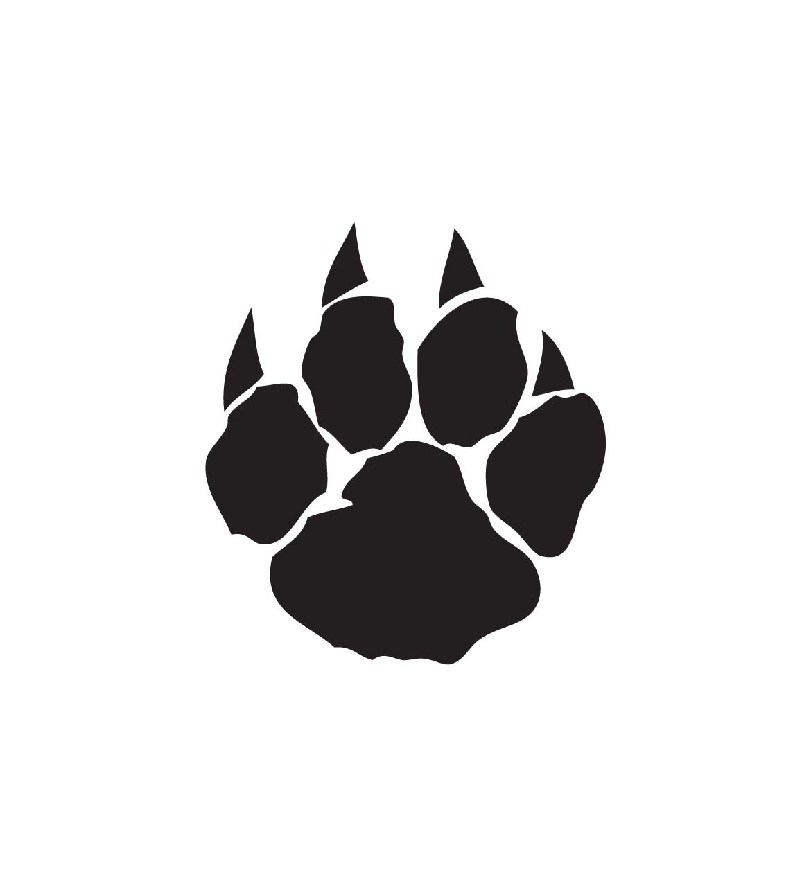 Wolverine paw print clipart png stock Paw print cat print clipart clipart kid - Cliparting.com png stock