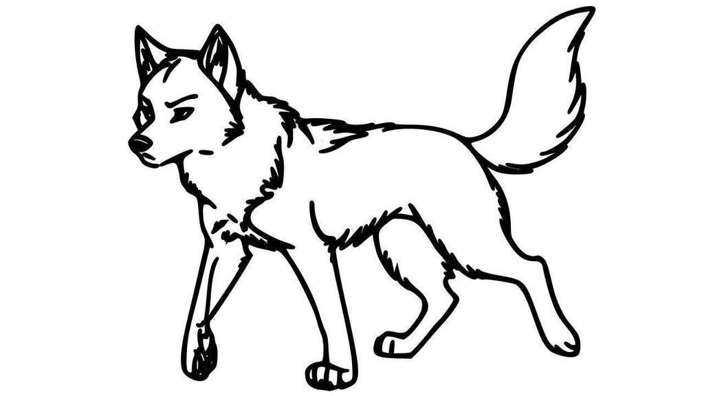 library of wolves png library download rawings png files