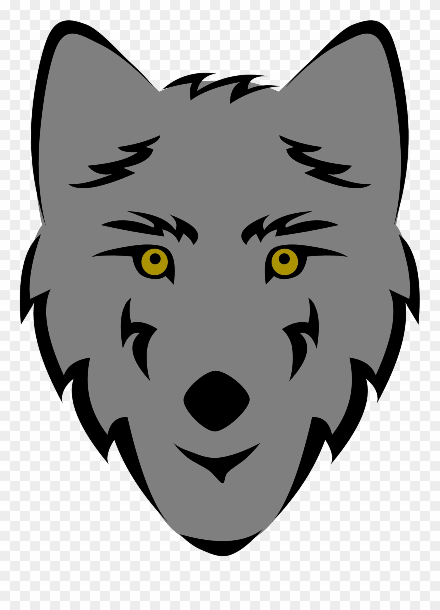 Wolves face clipart png Wolf Clip Art - Wolf Face Drawing Easy - Png Download ... png
