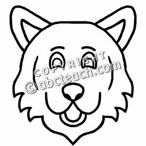 Wolves face clipart svg freeuse Wolf Clipart Black And White | Free download best Wolf ... svg freeuse