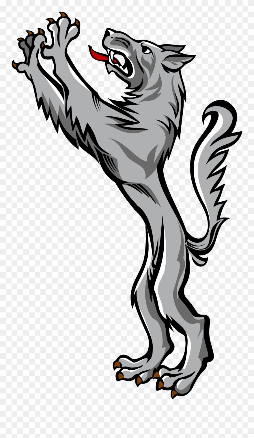 Wolves familys clipart clip art free download Wolf - Wolves In Family Crests Clipart (#986218) - PinClipart clip art free download