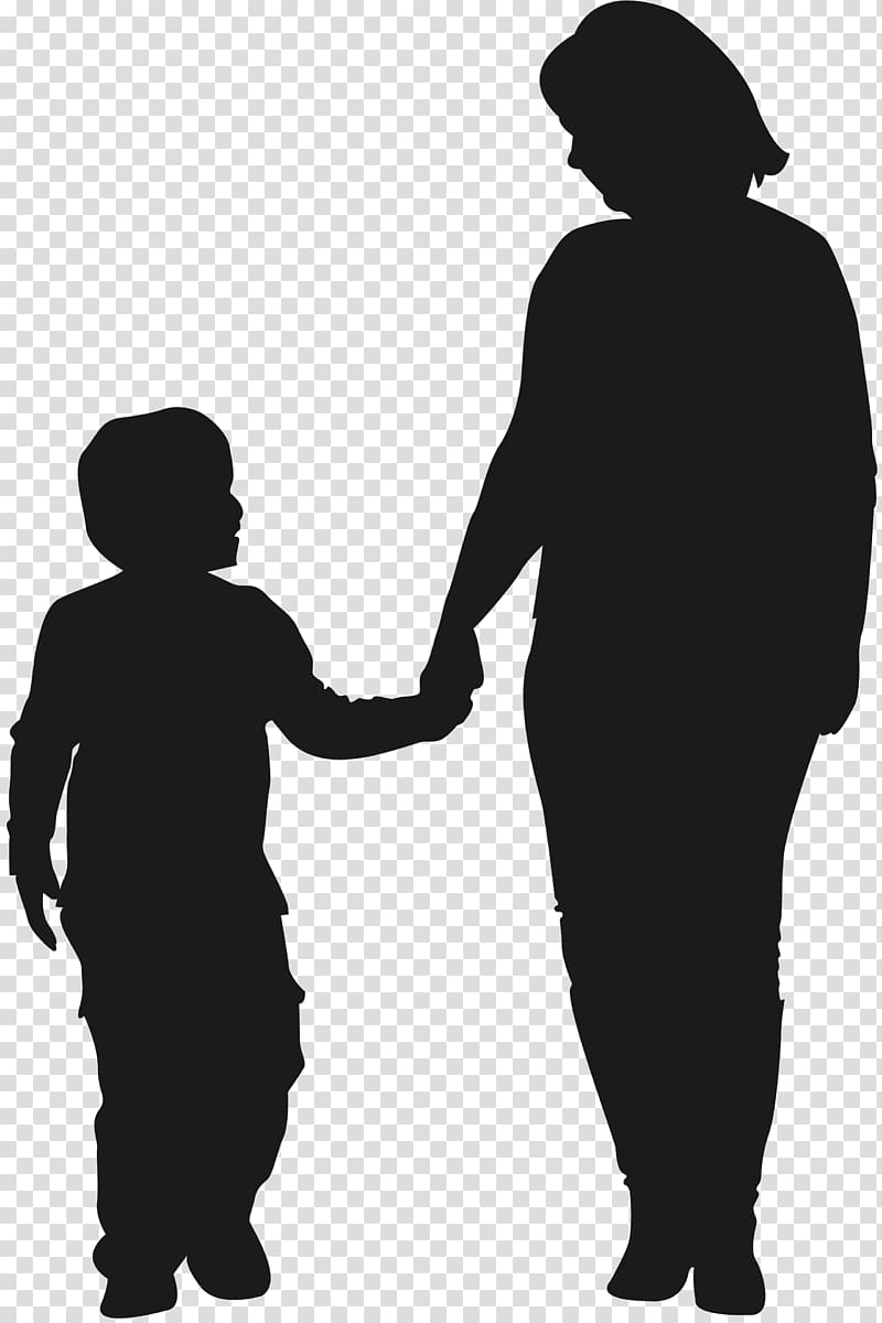 Woman and child clipart clipart royalty free download Silhouette of woman and child art, Mother Child Silhouette ... clipart royalty free download