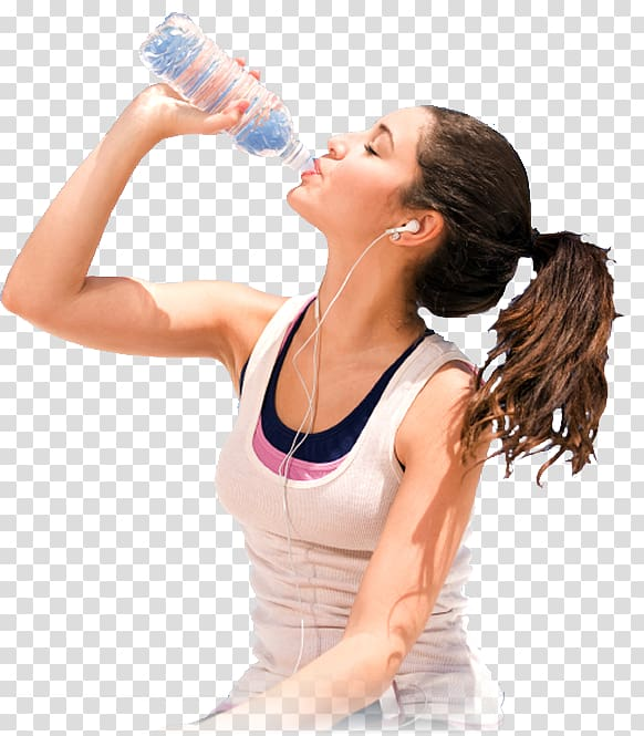 Woman and water bottle clipart clip Woman drinking water from bottle, Carbonated water Fizzy ... clip