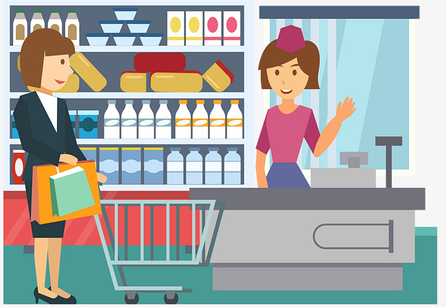 Woman at checkout clipart banner black and white download 14 cliparts for free. Download Buy clipart checkout counter ... banner black and white download
