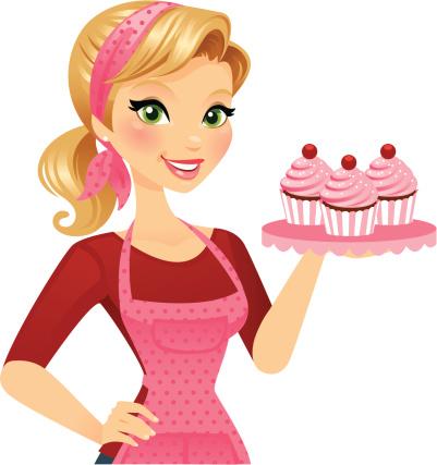 Woman baker clipart clip art download Woman Baker Cliparts 1 - 401 X 427 - Making-The-Web.com clip art download