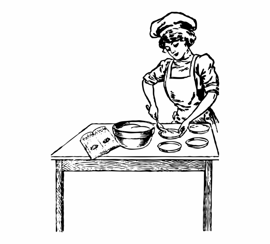 Woman baker clipart png stock Cooking Baking Chef Woman Baker - Woman Cooking Clip Art ... png stock