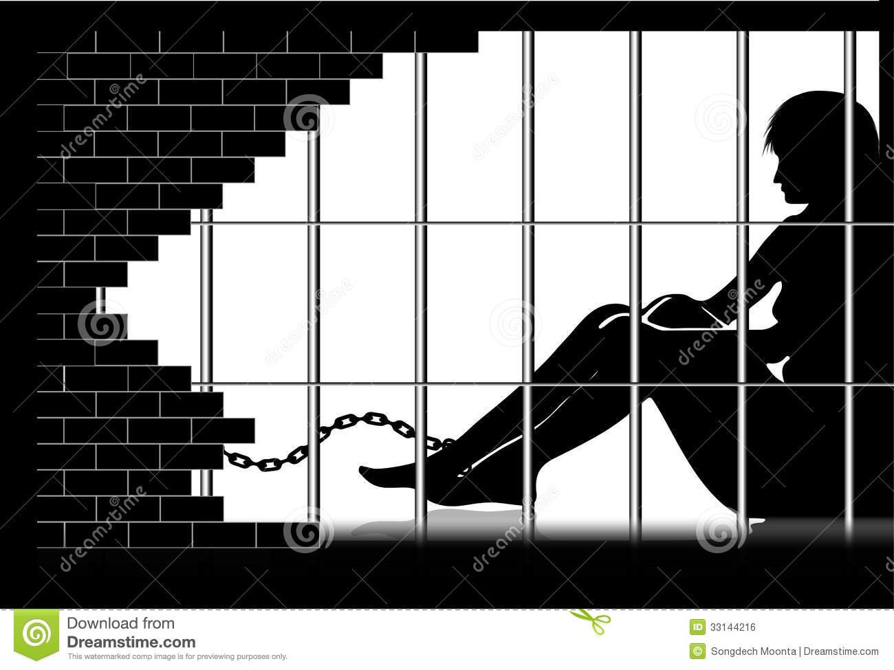 Woman behind bars clipart banner transparent stock Prisoner · Woman Behind Bars - 136*170 - Free Clipart ... banner transparent stock