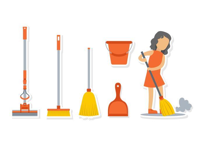 Woman broom clipart banner royalty free Broom Free Vector Art - (13,103 Free Downloads) banner royalty free