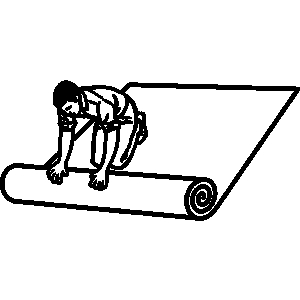Woman laying carpet installer clipart black and white png royalty free library Free Carpet Installer Cliparts, Download Free Clip Art, Free ... png royalty free library